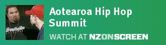 Aotearoa Hip Hop Summit badge