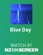 Blue Day badge