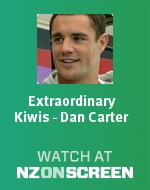 Extraordinary Kiwis - Dan Carter badge