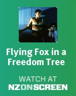 Flying Fox in a Freedom Tree badge