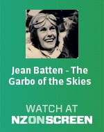 Jean Batten - The Garbo of the Skies badge