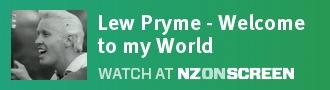 Lew Pryme - Welcome to my World badge