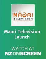 Māori Television Launch badge