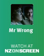 Mr Wrong badge