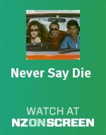 Never Say Die badge