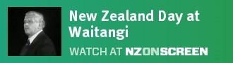 New Zealand Day at Waitangi badge