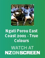 Ngati Porou East Coast 2001 - True Colours badge