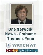 One Network News - Grahame Thorne's Perm badge
