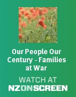 Our People Our Century - Families At War badge