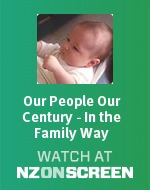 Our People Our Century - In the Family Way badge