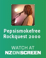 Pepsismokefree Rockquest 2000 badge