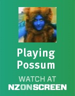 Playing Possum badge