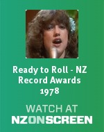 Ready to Roll - NZ Record Awards 1978 badge