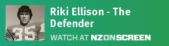 Riki Ellison - The Defender badge