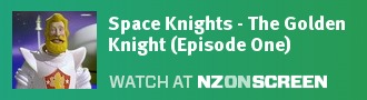 Space Knights - The Golden Knight (Episode One) badge