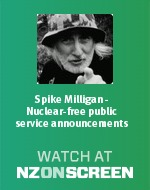 Spike Milligan - Nuclear-free public service announcements badge