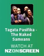 Tagata Pasifika - The Naked Samoans badge