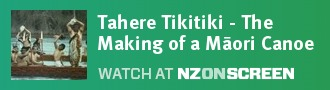 Tahere Tikitiki - The Making of a Māori Canoe badge