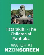 Tatarakihi - The Children of Parihaka badge