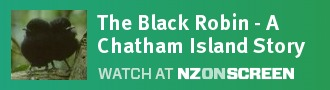The Black Robin - A Chatham Island Story badge