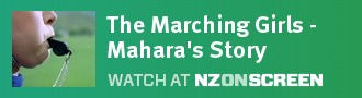 The Marching Girls - Mahara's Story badge