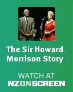 The Sir Howard Morrison Story badge