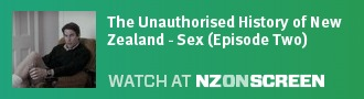 The Unauthorised History of New Zealand - Sex (Episode Two) badge