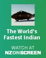 The World's Fastest Indian badge