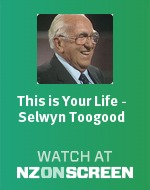 This is Your Life - Selwyn Toogood badge