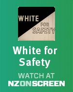 White for Safety badge