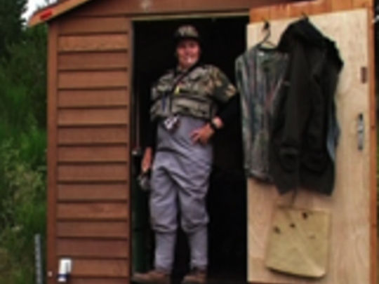 Lynda topp nz on screen for Hunting and fishing show
