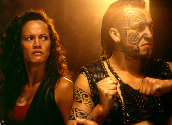 Once were warriors film movie scenes rena owen left as beth and