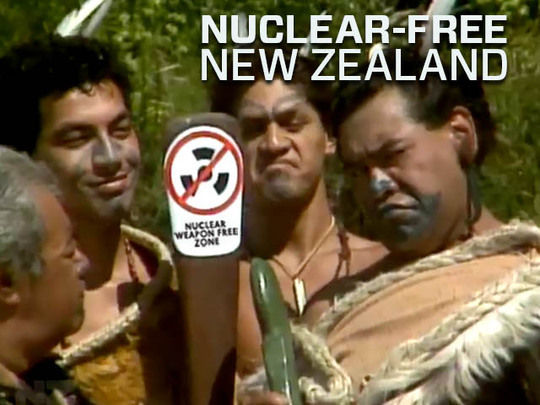 Image for Nuclear-free New Zealand