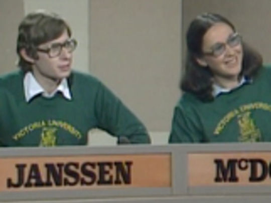 Thumbnail image for University Challenge - 28 November 1981