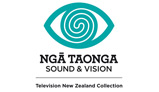 Logo for Ngā Taonga Sound & Vision - TVNZ Collection