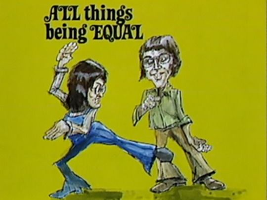 Thumbnail image for All Things Being Equal