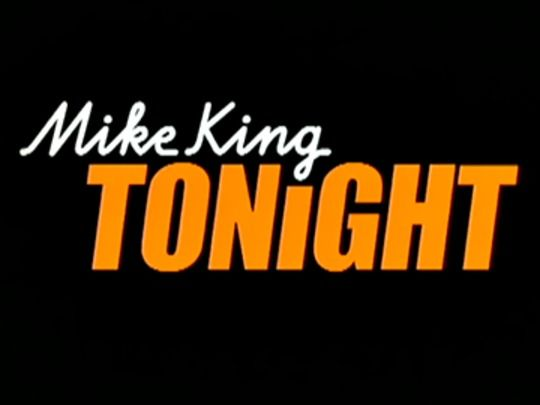 Thumbnail image for Mike King Tonight