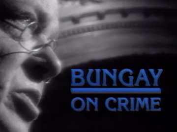 Image for Bungay on Crime
