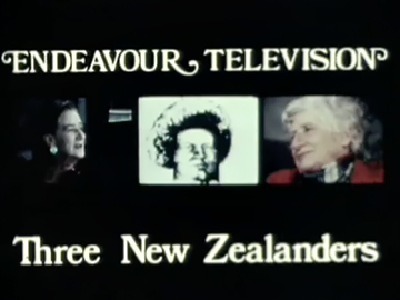 Image for Three New Zealanders