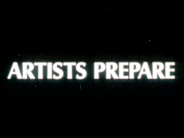 Image for Artists Prepare