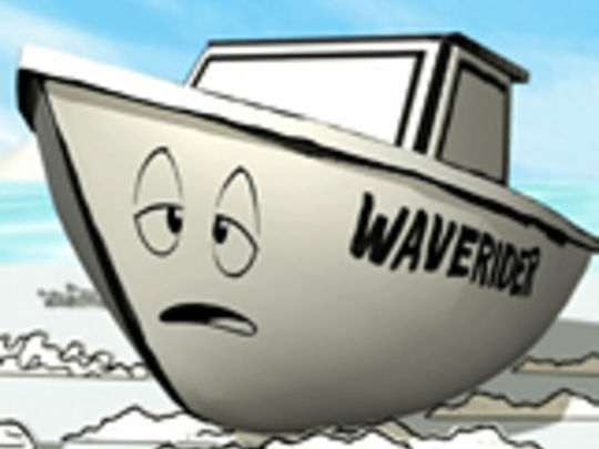 Thumbnail image for The Adventures of Massey Ferguson - Stranded Boat (Series One, Episode Five)