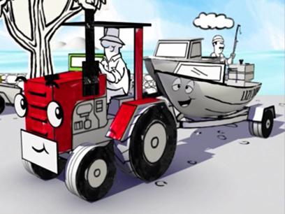 Hero image for The Adventures of Massey Ferguson - Fishing Contest (Series One, Episode 12)