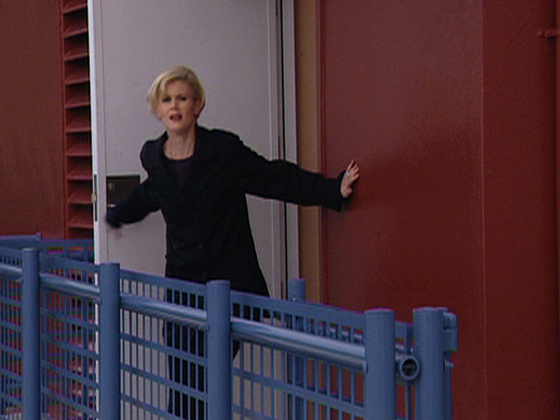 Hero image for Shortland Street - Tiffany falls from a building