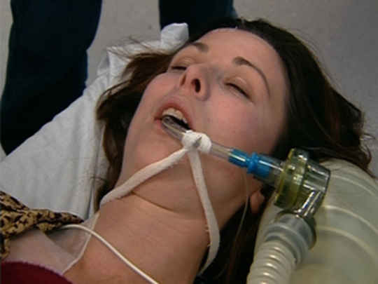 Thumbnail image for Shortland Street - Carmen after the truck crash