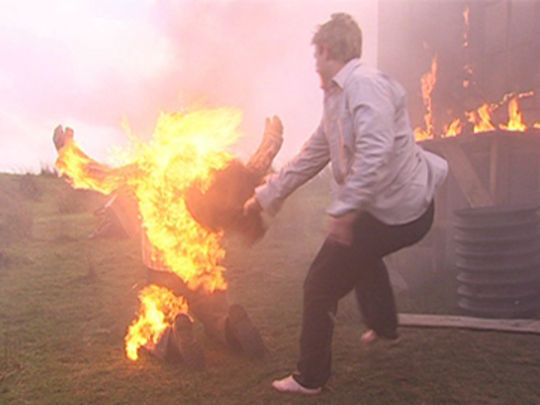 Thumbnail image for Shortland Street - Dominic meets a fiery end