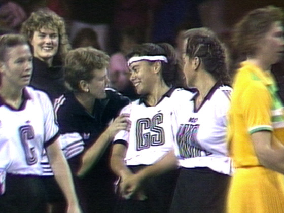Hero image for One Network News - Silver Ferns debut of April Ieremia (4 May 1989)