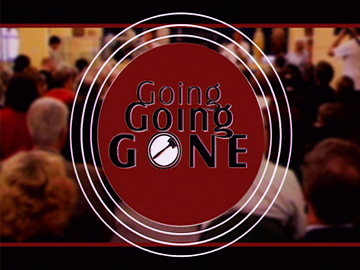 Image for Going Going Gone