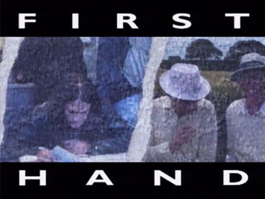 Thumbnail image for First Hand