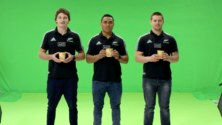 Hero image for Cure Kids - All Blacks Prank: Japanese Ad