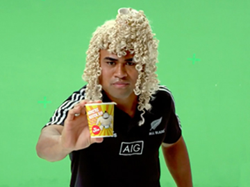Image for Cure Kids - All Blacks Prank: Japanese Ad